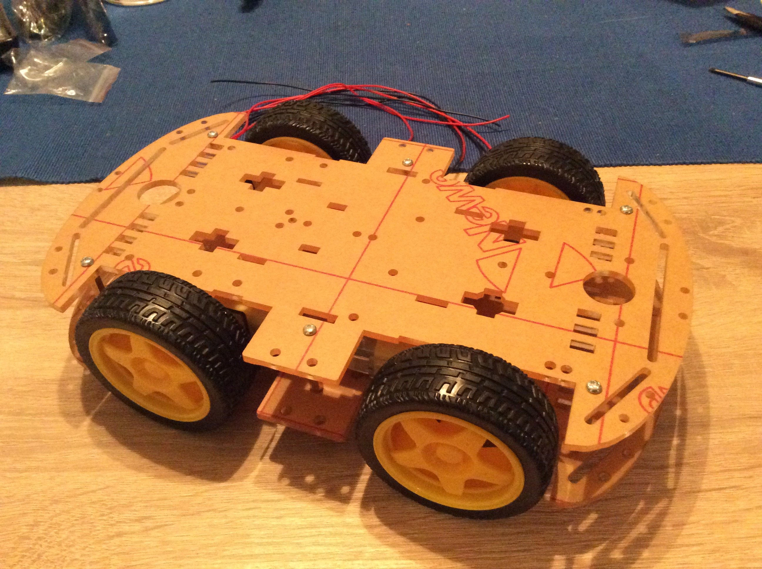Raspberry Car Version 2 Vorwort und Overview